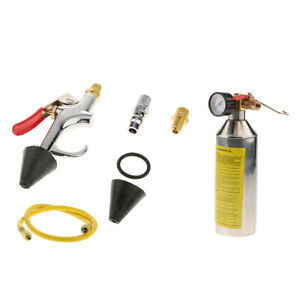 R134a R12 Auto A c Air Conditioning Line Set Flush Tool Canister Gun Kit 1 4