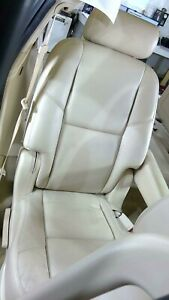 08 14 Cadillac Escalade 2nd Row Bucket Seat right Cashmere Oem