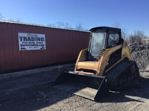 2007 Asv Posi track Sr80 Compact Track Skid Steer Loader W Cab Heat High Flow