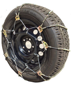 Snow Chains 225 50 17 225 50 17 A1038 Diagonal Cable Tire Chains Set Of 2