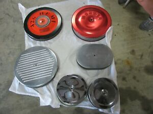 Mopar Chevy Ford 4 Bbl Air Cleaners