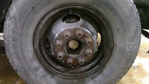 88 98 Chevy Truck Dually Steel Wheel Rim Assembly 8 Lug No Tire