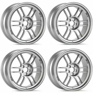 Enkei Rpf1 18x9 5 5x114 3 38mm Offset 73mm Bore Silver Wheel