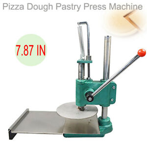 A 7 87 Inch Dough Roller Sheeter Pasta Maker Bread Molder Pizza Press Machine Ce