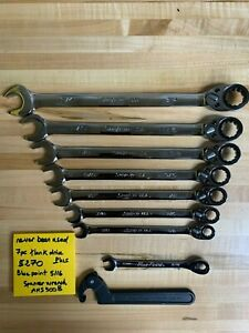 Snap On Ratcheting Wrench Set