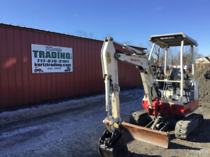 2011 Takeuchi Tb016 Hydraulic Mini Excavator W Only 2900 Hours