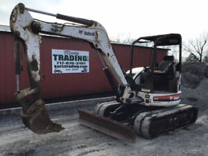 2005 Bobcat 435 Hydraulic Mini Excavator Kubota Diesel Engine 3400 Hours