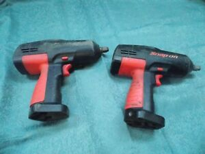 2 Cordless 18v Snap on 1 2 Impact Wrench Ct3850