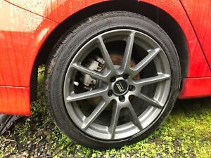 Ford Focus St Wheels Sport Edition 18 s With Goodyear Tires