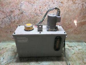 Willy Vogel Central Lubrication Automatic Lubricator System Mfe5 bw15 Warranty