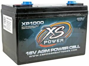 Xs Power Xp1000 2400 Watt 16v Power Cell Car Audio Battery Power System