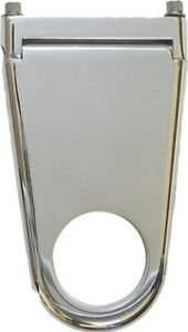 Borgeson Column Drop Blank Style 2in Column X 4in Drop Polished Aluminum