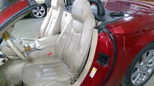 06 09 Cadillac Xlr Cashmere Leather Seat Set Left Right Oem