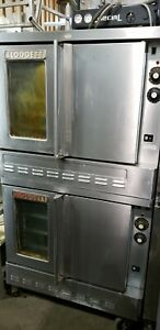 Blodgett Gas Double Deck Full Size Convection Oven 1382