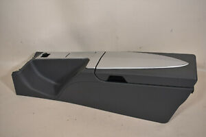 04 08 Chrysler Crossfire Center Console Compartment Arm Rest Gray Oem
