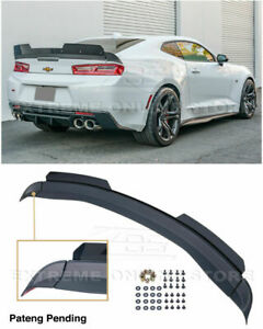 Eos 1le Extended V2 Style Rear Spoiler Trunk Wing Wickerbill For Camaro 16 up