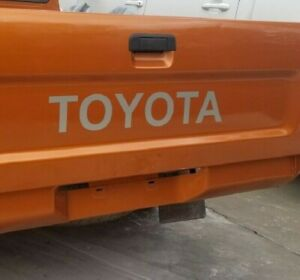 Silver Toyota Tailgate Decals Vinyl Stickers Truck Bed 24