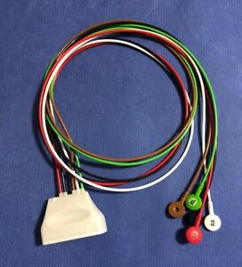 Philips Cable Ecg 5 Lead Snaps Ref 989803171821