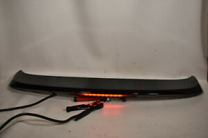 07 15 Mazda Cx 9 Spoiler Lift Gate Hatch Wing Brake Light Brilliant Black Oem