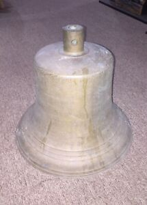 Antique Nautical Buoy Bell Brass Maritime Sailor Rare Ship Ocean Fisherman