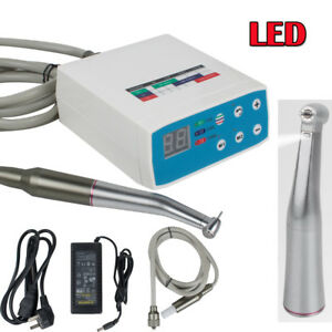 Fda Dental Lab Micromotor Brushless Motor Led 1 5 Speed Contra Angle Handpiece