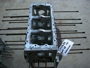 Corvair 65 68 Engine Block 140 Manual Trans T0106rm Degreased 8 Big Case Bolts