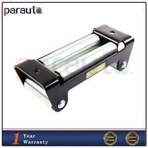 10 Bolt Pattern 4 Way Roller Recovery Winch Fairlead Guide Steel Cable Atv Utv