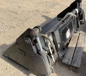 Cat Caterpillar 4 in 1 Multi purpose Skid Steer Track Loader Bucket Attachment