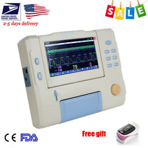 7 Maternity Machine Baby Fetal Monitor Fhr Toco Fetal fetus Movement Monit Gift