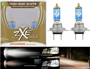 Openbox Sylvania Silverstar Zxe Gold H7 55w Two Bulb Head Light Low Beam Upgrade