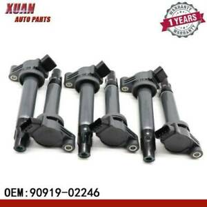 6x Ignition Coils 673 1301 Denso For Toyota Avalon Camry Lexus Es300 Rx300
