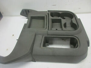 06 07dodge Ram 2500 3500 4x4 Floor Console Shifter Cupholder Grey