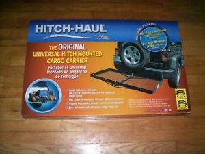 Hitch haul Masterbuilt 2 1 1 4 Receiver Mount Cargo Carrier 500 Lb Platform