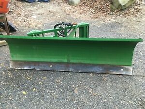 7 84 Snowplow Quick Attach For Jd Compact Tractor