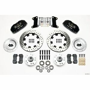 Wilwood 140 10510 D Forged Dynapro Front Disc Brake Kit For 67 69 Chevy Camaro