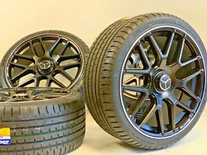 20 Wheels Rims Tires Fit Mercedes Benz S550 Amg S63 Silverli Staggered Set Of 4