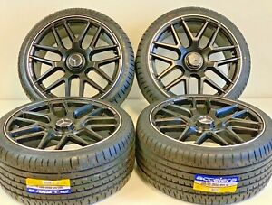 20 Wheels Rims Tires Fit Mercedes Benz S550 Amg S63 Silverline Staggered Set 4