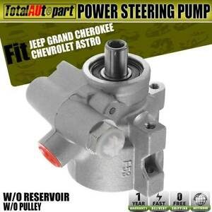 Power Steering Pump Cast Iron W O Pulley For Jeep Cherokee Grand Cherokee 20 606