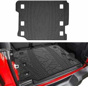 Rear Trunk Liner Floor Cargo Tray Mat For 2018 2020 Jeep Wrangler Jl Unlimited
