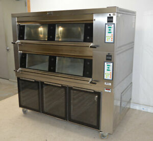 Doyon 4t2p Artisan 4t series Brick Two deck oven Proofer 3 chamber 3ph 8080 cn