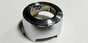 New 1966 Ford Fairlane Galaxie 3 Spoke Wood Steering Wheel Center Cap Bezel