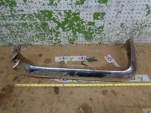 1960 Ford Thunderbird Right Rear Bumper Upper Face Bar 1958 1959 T bird Oem