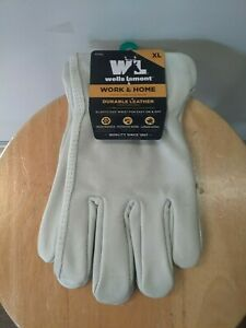 Wells Lamont Men s Leather Driver Work Gloves Bucko Xl