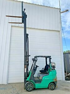 Mitsubishi 5 000 Pound Forklift Good Condition
