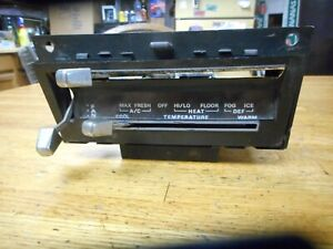 1969 1970 Ford Mustang Cougar Air Conditioning Heater Control Assembly