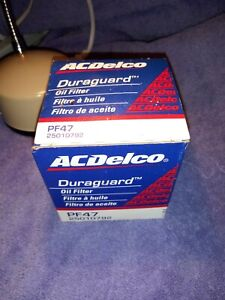 Great Deal You Get 3 Ac Delco Duraguard Pf47 Oil Filters With Free Shipping