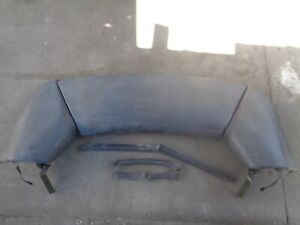 Geo Metro Convertible Lsi 1989 To 1991 Complete Top Boot Cover All 3 Pieces