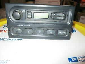Crown Victoria Interceptor Am Fm Stereo Player Receiver Am Fm Dash Console