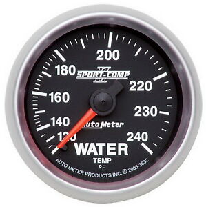 Auto Meter 3632 Gauge Water Temperature