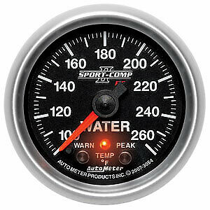 Auto Meter 3654 Gauge Water Temperature